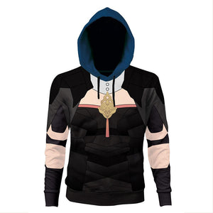 Unisex Byleth Female Hoodies Fire Emblem: Three Houses Pullover 3D Print Jacket Sweatshirt