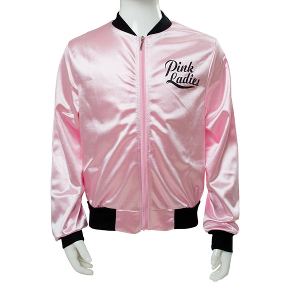 Kids Retro 50s Grease Pink Lady Sweetie Jacket Hen Party Dance Costume Fancy Dress-Fandomsky