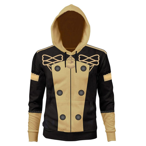 Unisex Fire Emblem: Three Houses School Uniforms Hoodies Pullover 3D Print Jacket Sweatshirt