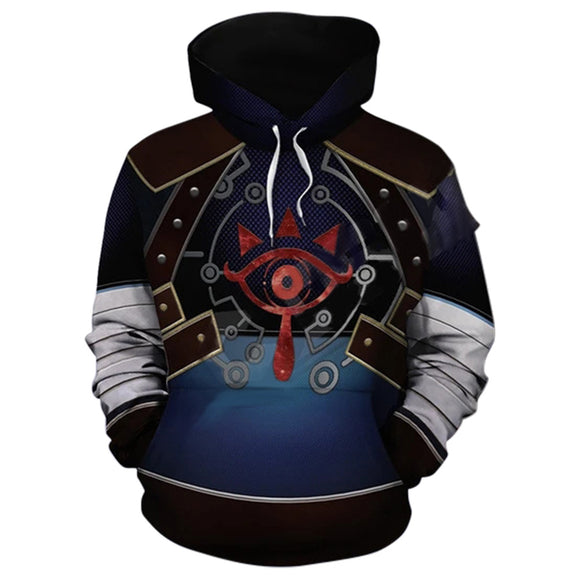 Unisex The Legend of Zelda Hoodies Long Sleeve Sweatshirts Pullover Clothes Tops For Winter And Autumn