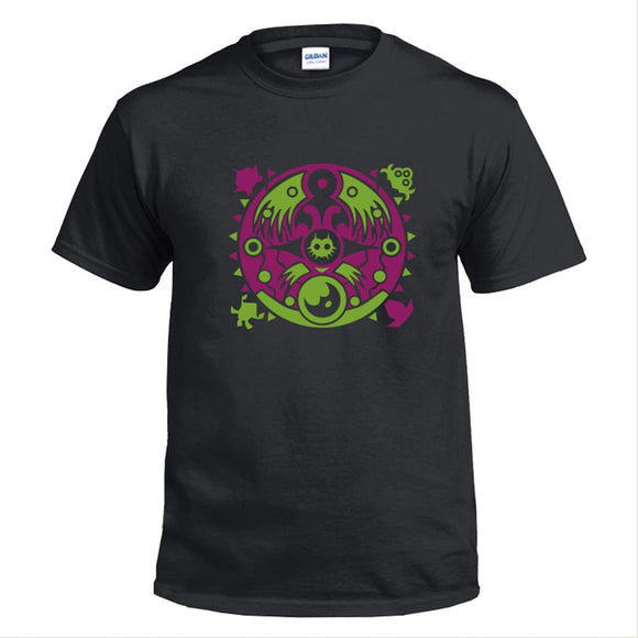 Adult Legend of Zelda Majora's Mask Design T-Shirt-Fandomsky