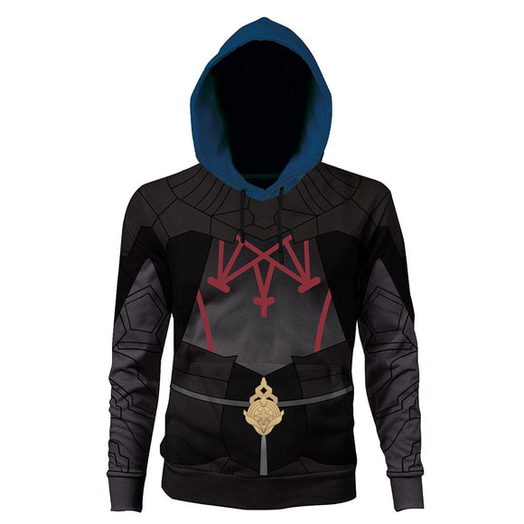 Unisex Byleth Male Hoodies Fire Emblem: Three Houses Pullover 3D Print Jacket Sweatshirt
