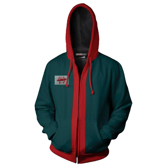 Spider-Man: Into the Spider-Verse Miles Morales Zip-Up Hooded Sweatshirt