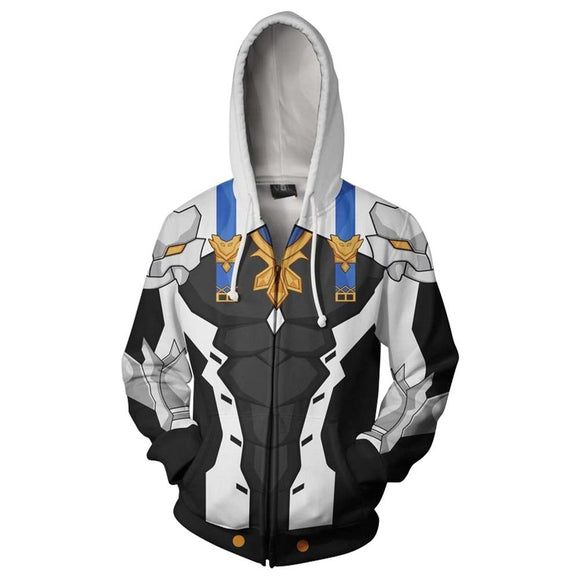Unisex Fire Emblem: Three Houses Hoodie Cosplay Hooded Zip Up Sweatshirt Cosplay Costume