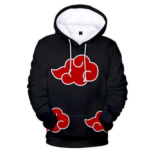 Anime Naruto Fashion Hoodies Long Sleeve Autumn Outerwear Sweatshirt-Fandomsky
