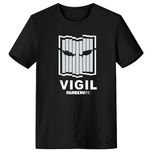 Rainbow Six Siege VIGIL Logo Men's Short Sleeve Shirts T Shirts Tees