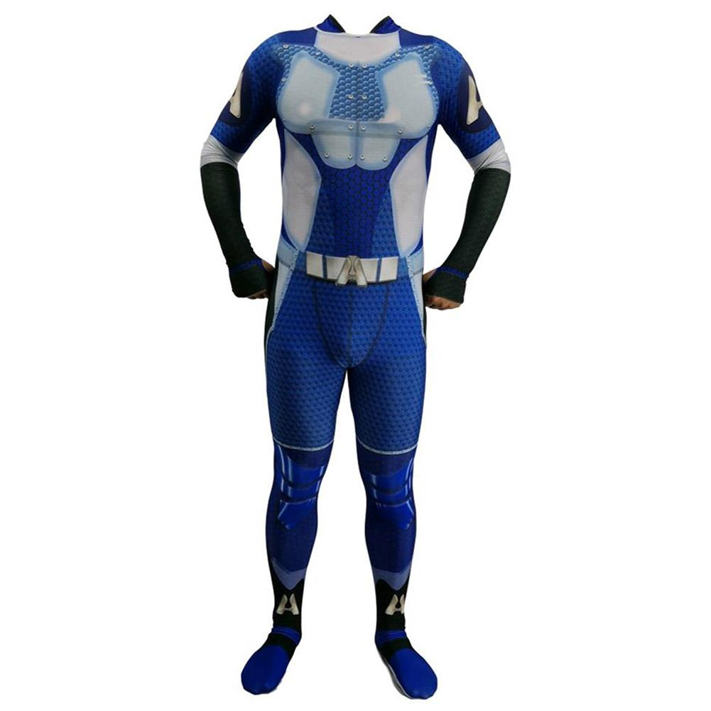 Full Body Suit Lycra Spandex Costume Suit for Halloween Cosplay Costumes Fancy Dress Black