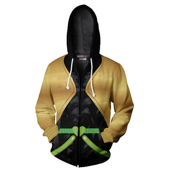 JoJo's Bizarre Adventure Hoodies Giovanna Leone Mista Zipper Up Hooded Jacket