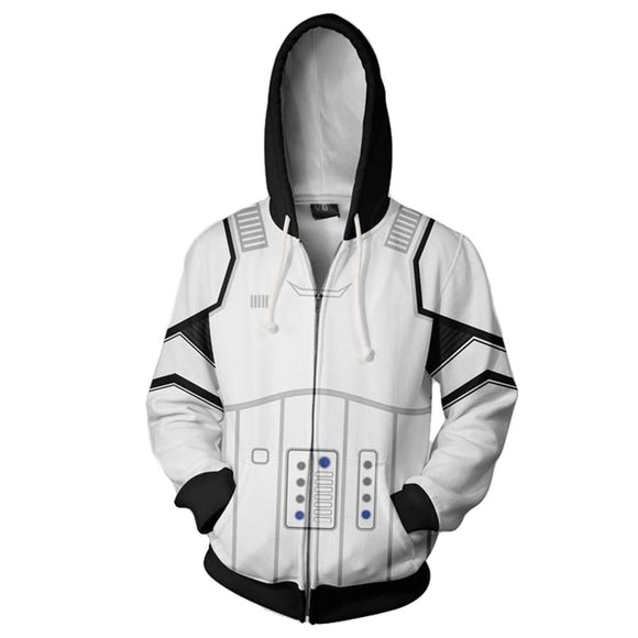 Star Wars Men's StromTrooper Fleece Hoodie