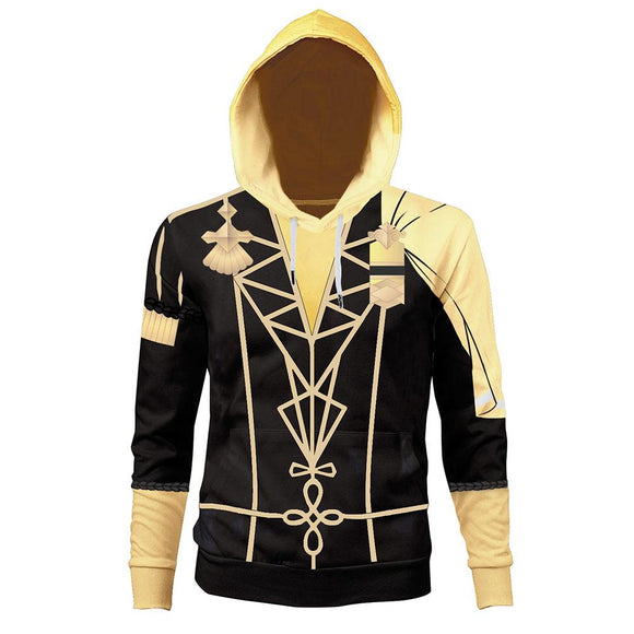 Unisex GOLDEN DEER Hoodies Fire Emblem: Three Houses Pullover 3D Print Jacket Sweatshirt