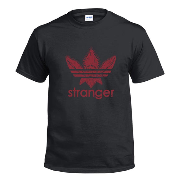 Unisex TV Series Merchandise T-shirt Stranger Things Printed Short Sleeve Shirt-Fandomsky