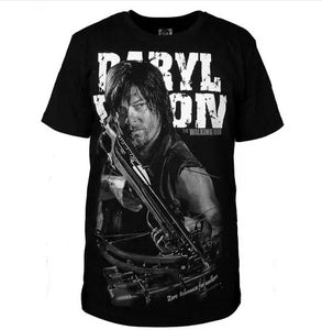 The Walking Dead Men's Casual Daryl Dixon Cotton T-Shirt Hoodie Sweater