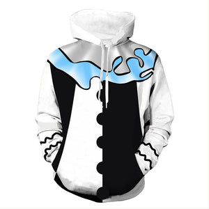 Unisex Chip Baskets Hoodies Baskets Pullover 3D Print Jacket Sweatshirt