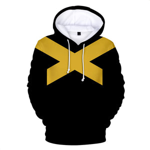 Men's Hoodie Dark Phoenix Superhero Pullover Hooded Cosplay Sweatshirt-Fandomsky