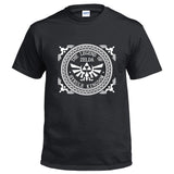 The Legend of Zelda Logo Men's Short Sleeve Shirts T Shirts Tees-Fandomsky