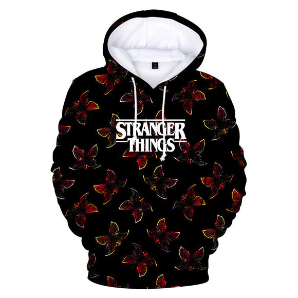 Stranger Things Season 3 Eleven 3D Printed Hoodie Unisex-Fandomsky