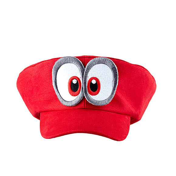 Super Mario Odyssey Cappy Hat Cosplay Accessory Red-Fandomsky