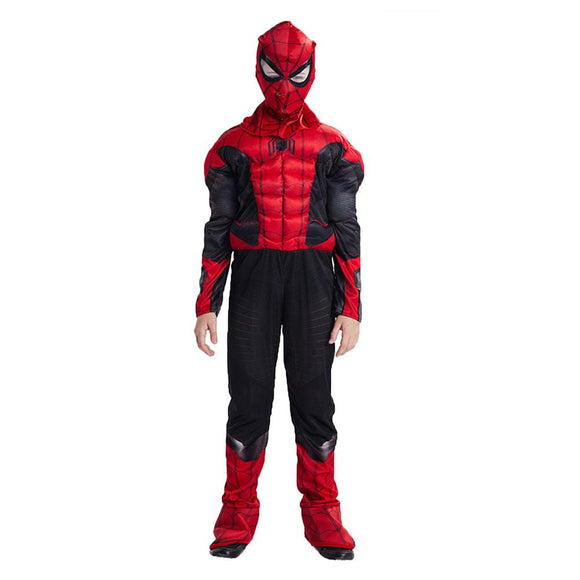Kids Spiderman Muscle Jumpsuits Halloween Cosplay Costume Far From Home Superhero Fancy Costumes