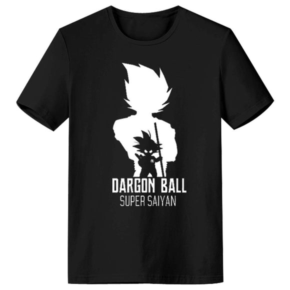 Dragon Ball Printed Men's Short Sleeve Shirts T Shirts Tees