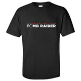 Tomb Raider: Shadow Logo Men's Short Sleeve Shirts T Shirts Tees-Fandomsky
