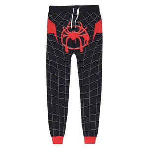 Unisex Miles Morales Sweatpants Spider-Man: Into the Spider-Verse 3D Printed Long Sport Pants