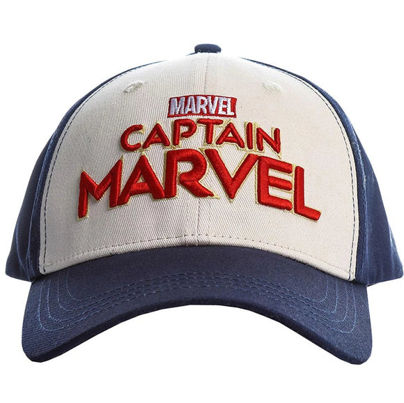 Captain Marvel Hat Baseball Cap Embroidery Cosplay Hat