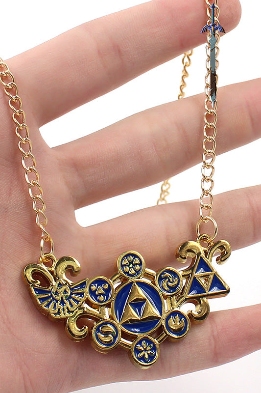 Legend of Zelda Link Necklace-Fandomsky