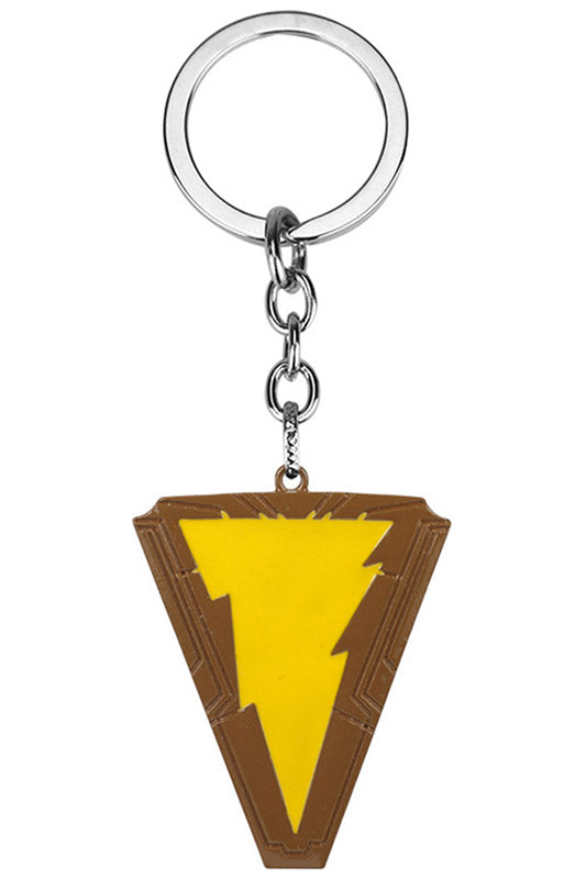 DC Shazam Mark Pendant Necklace, Collector's Gift-Fandomsky