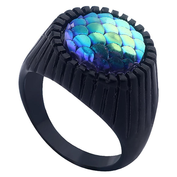 Superhero Movie Aquaman Alloy Ring Cosplay Props Women Men Cosplay Jewelry Gifts-Fandomsky