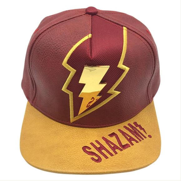 Shazam Adjustable Cowboy Cap Gold Metal Hat-Fandomsky