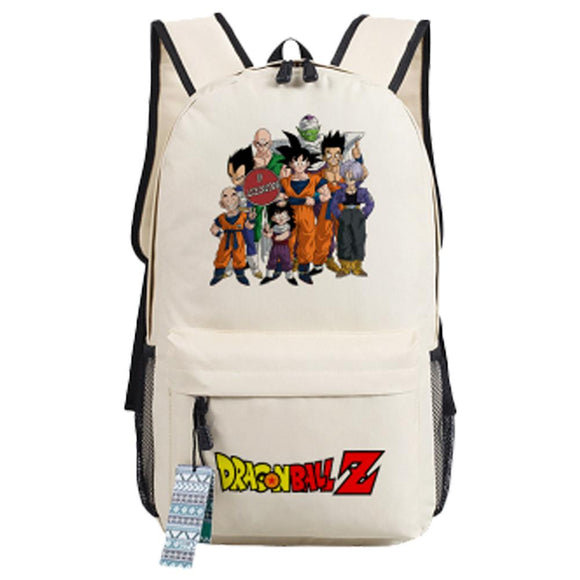 Anime Dragon Ball Z Kakarotto Super Saiyan Backpack Oxford Fabric School Travel