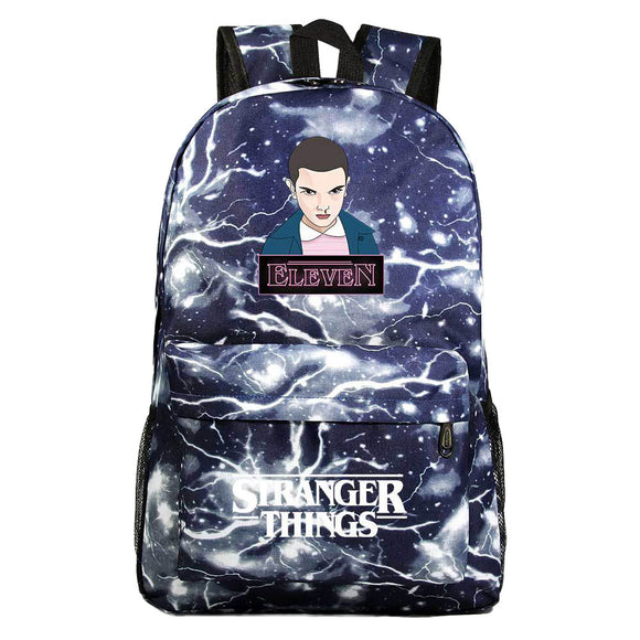 Kids 17 Inch Stranger Things Leisure Daily Backpack Travel Student Teenager School Bag