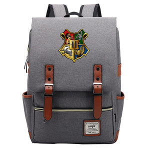 Kids 16 Inch Hogwarts Symbol Leisure Daily Backpack Travel Student Teenager Harry Potter School Bag