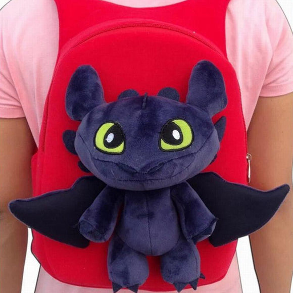 How to Train Your Dragon Child Kindergarten Plush Backpack-Fandomsky