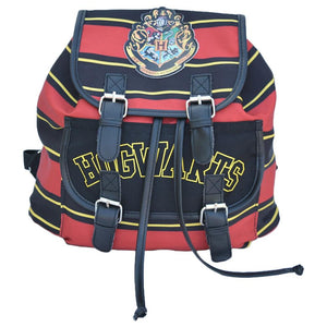 Harry potter Hogwarts Large Capacity Canvas Backpack Men and Women-Fandomsky