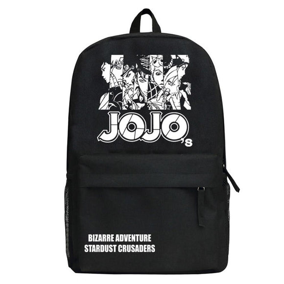 Anime Jojos Bizarre Adventure Kujo Jotaro Backpack-Fandomsky
