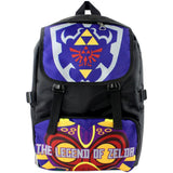 The Legend of Zelda Cosplay School Bag Waterproof-Fandomsky