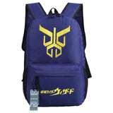Anime Masked Rider Kuuga Oxford Fabric Backpack Travel