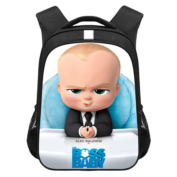 The Boss Baby Digital Print Backpack Student School Bag Back To School Gift