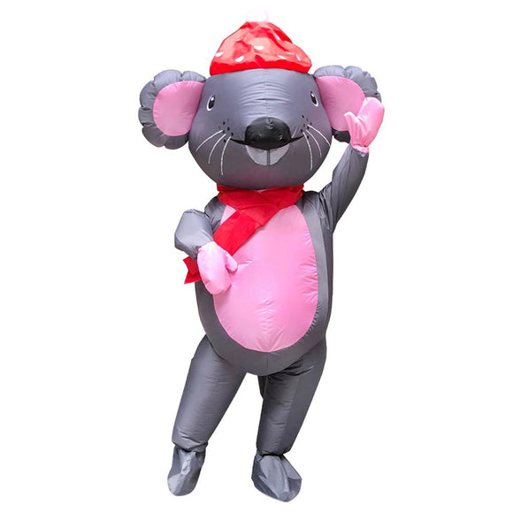 Mr. Mouse Anime Inflatable Costume Fancy Dress Mascot Adult Carnival Holiday Props