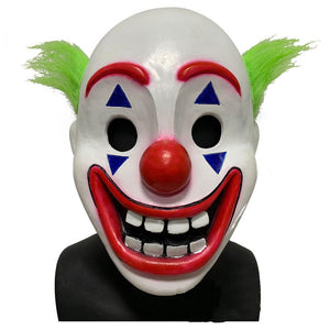 Joker Origin Movie Cosplay Joker Mask Batman Joaquin Phoenix Halloween Party Latex Mask Costume Props
