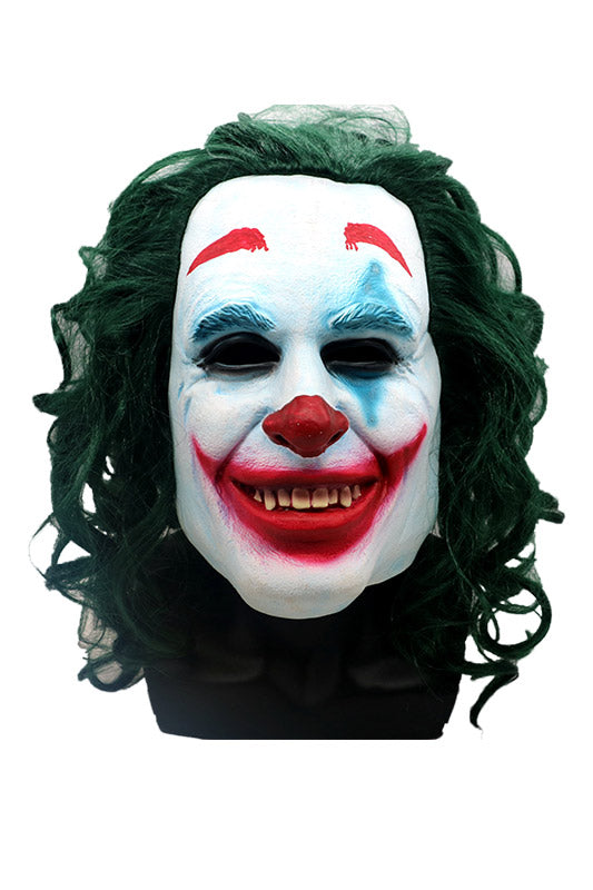 Scary Mask Halloween Joker, Batman Clown Resin Mask Resin Mask Character Celebrity-Fandomsky