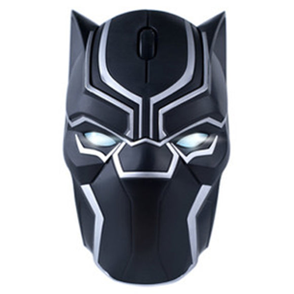 Cool Wireless Mouse Black Panther Gaming Mice Portable Mobile Computer Click Silent Mouse for PC and Laptops