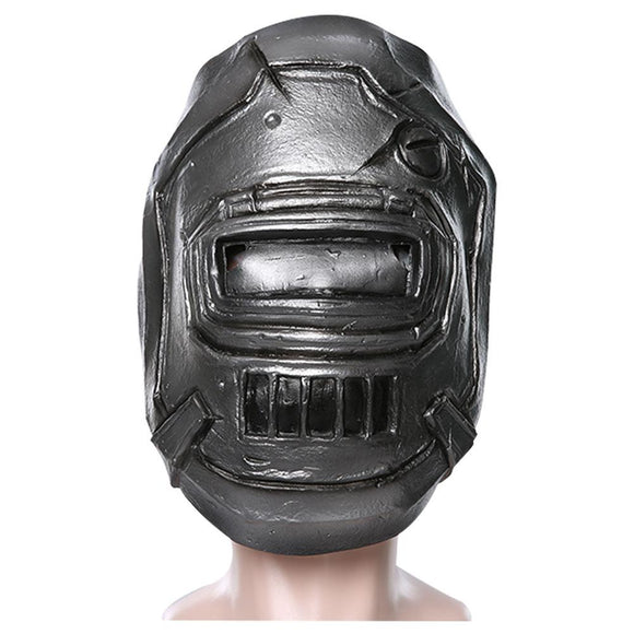 Borderlands 3 The Bot Jock Mask Latex Cosplay Mask Halloween Party Mask