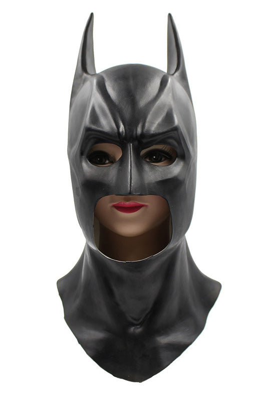 DC Batman The Dark Knight Rises Full Batman Mask, Black, One Size-Fandomsky