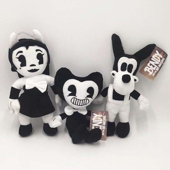 30cm Bendy and the Ink Machine Cartoon Figure Plush Doll Soft Stuffed Toys Children Gift Toys Plush Toys