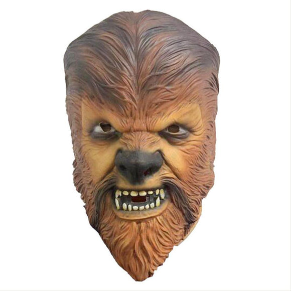 Star Wars The Force Awakens Chewbacca Mask Halloween Party Mask Toys Cosplay Props
