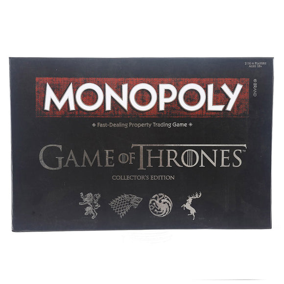 Monopoly Game of Thrones Board Game | Collectable Monopoly Game | Themed Monopoly Board Game