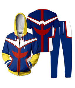 My Hero Academia All Might Suit T-Shirt Hoodie Pants-Fandomsky