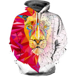 Men Christmas Sweatshirts 3D Digital Printed Graphic Long Sleeve Shirts-Fandomsky